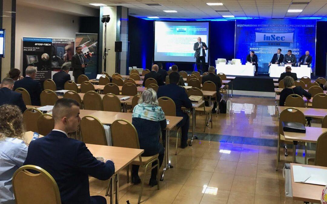 Międzynarodowa Wystawa i Konferencja Bezpieczeństwa Granic i Bezpieczeństwa Wewnętrznego INSEC, Warszawa, 14-16.11.2018
