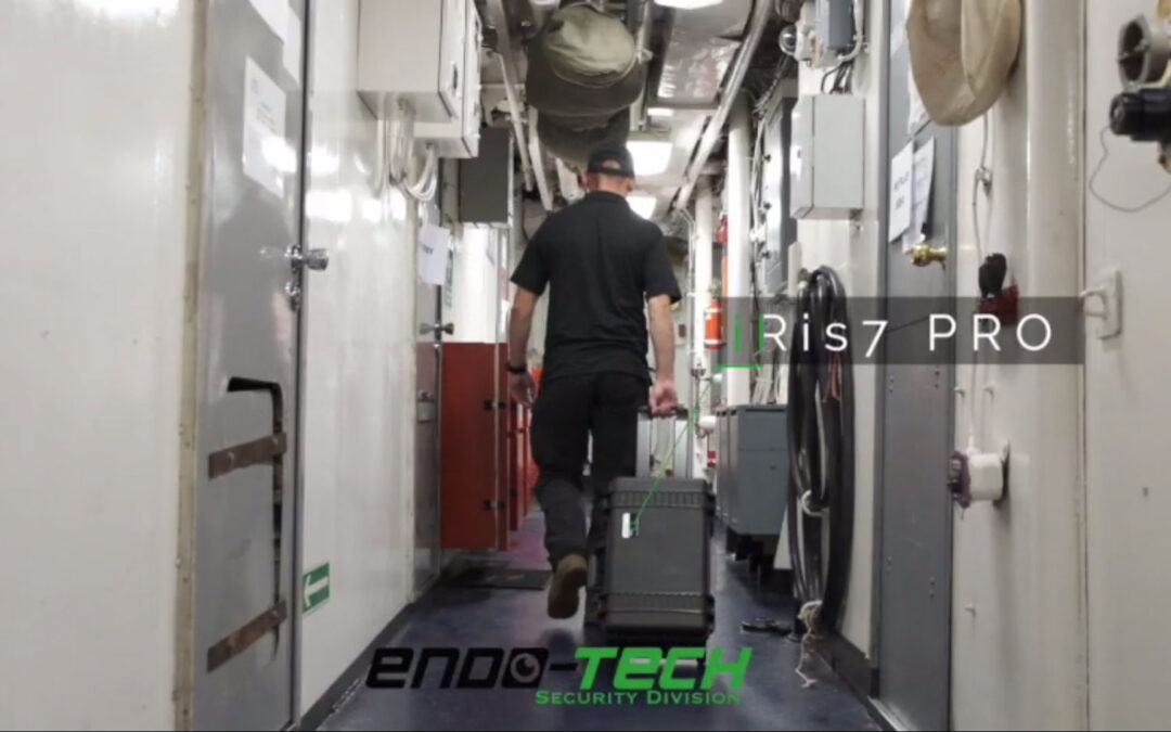 Wideo-endoskop iRis DVR 7 PRO na szkoleniu CBRN