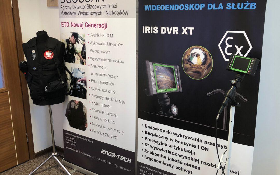 Pokazy wideo-endoskopu oraz detektora
